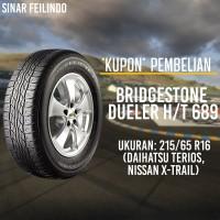 Ban Mobil SUV Bridgestone DUELER 215/65 R16 D-689