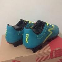 Baru Sepatu Bola Specs Quark FG Tosca Solar Slime 100805 Original