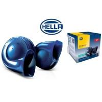 Hella Blue Twin Tone Disk PNP Set Motor (Klakson + kabel set + Relay)