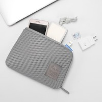Pouch Gadget Dompet Hp Travel Organizer Power bank Charger & Cable M23 - Biru Muda