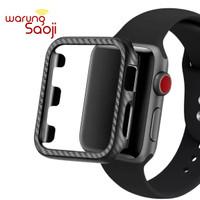 Fiber Carbon Apple Watch Case 38 42 mm Series 1 2 3