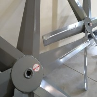 Baling baling exhaust fan 6 blade diameter 68 cm blower kipas kandang