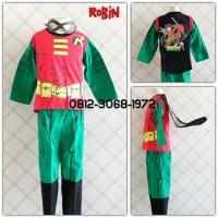 Baju Setelan Kostum Anak Karakter Superhero ROBIN 2-5 Tahun