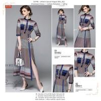 dress wanita, drees motif, premium dress, dress korea, baju korea