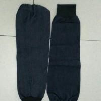 apron las pelindung tangan lengan jeans