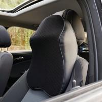 Car Seat Head Neck Rest Memory Foam / Bantal Leher