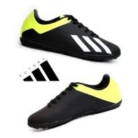 Sepatu Olahraga Futsal Adidas X Techfit Hitam Hijau Import