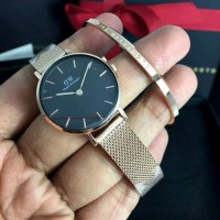 Daniel Wellington petite mellrose black 28/32mm ORIGINAL