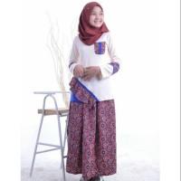 [Original] Baju Muslim Anak Remaja Nibras Teen NT 40 Setelan Atasan