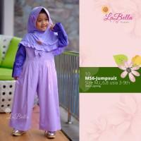 baju busana Jumpsuit muslim anak perempuan labella JR10(6-9th)