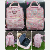 Tas Ransel / Punggung / Backpack Anello My Melody Little Twin Stars