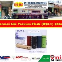 Termos LIFE 500ml Vacuum Flask - Termos Air Minum B90-1 - Biru