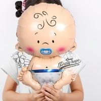 balon foil baby boy mini / balon foil baby boy / baby shower boy