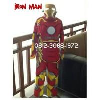 Baju Kostum Karakter Superhero Anak IRON MAN IRONMAN Avengers 8-11 Thn