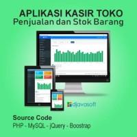 Aplikasi Penjualan Toko Kasir Minimarket Berbasis Web Full Source Code