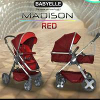 Stroller BabyElle Madison Stroler bayi Kereta Dorong Anak Bayi Roda 4