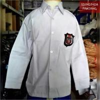 baju SD putih panjang kelas 1,2,3,4,5,6 seragam sekolah