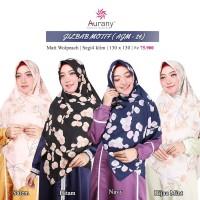 Aurany Jilbab Motif / AJM 24/ Jilbab Segi Empat