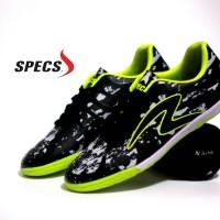 Sepatu Olahraga Futsal Specs Barricada Ultima Hitam Hijau Grade Ori