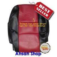 [Ahsan Shop] Sarung jok mobil Avanza 2008 Bahan OSCAR (Hitam - Merah)