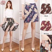 SB Collection Celana Pendek Rianti Hotpants Rok Batik Casual Wanita