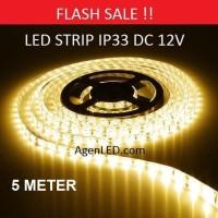 Lampu LED STRIP 3528 SMD 2835 IP33 IP 33 WARMWHITE indoor Warm White