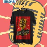 Arctic Monkey - Up Town Kaos Band Original Gildan