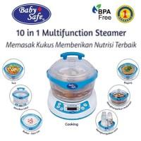 Baby Safe Steamer 10 in 1 Sterilizer Botol Food Maker LB005