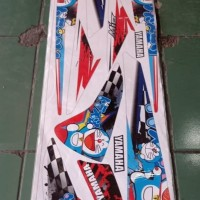 Striping Sticker Variasi Yamaha Mio Sporty motif Doraemon