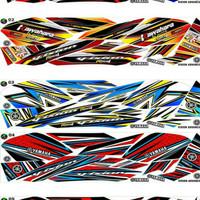 Sticker / Striping Variasi New Vixion Advance / NVA  2014-2016   -1