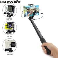 BlitzWolf BW-WS1 Monopod Selfie Stick Tongsis iPhone Samsung Gopro