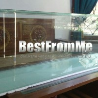 Aquarium akuarium custom ukuran 120x50x60 cm 120 x 50 x 60 kaca 10 mm