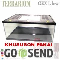 aquarium terrarium gex L khusus pembelian 1 paket mt005