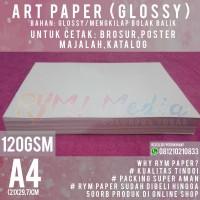 Kertas Art Paper 120gsm A4 (1 Rim/500 lembar)
