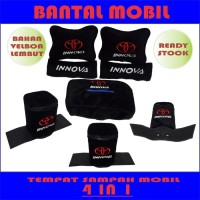 Bantal mobil Innova 4 in 1