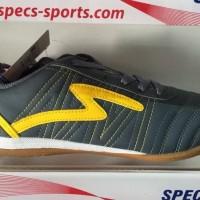Hot Saleee Syz01 Sepatu Futsal Specs Horus Dark Charcoal Yellow 2015