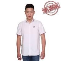 [ ORIGINAL ] Fila Baju Kemeja Basta - White
