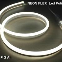 Lampu Neon Flex LED Selang Flexible Sign Strip Fleksibel PUTIH DAY