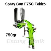 TEKIRO F75 G Premium Spray Gun - Semprotan Cat tabung atas
