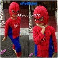 Baju Setelan Kostum Anak Karakter Superhero SPIDERMAN 5-8 Tahun