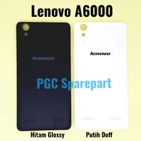 Backdoor Lenovo A6000 Qty Bagus -Tutup Casing Belakang Back Case Cover