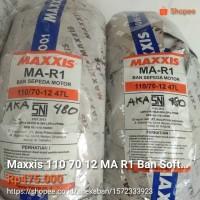 Maxxis 110 70 12 MA R1 Ban Softcompound untuk balap Vespa Sprint Mtik