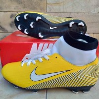 Sepatu Sepak Bola Nike Mercurial X Neymar High Yellow Import