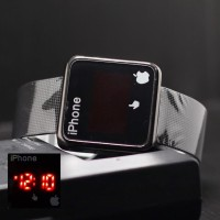 Jam tangan Pria & Wanita Iphone Jari 02 Rantai