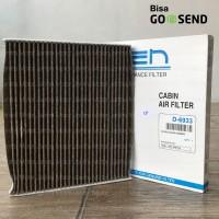 Filter Kabin AC KEN Deodorizer Coklat Datsun Go Panca / Go+ Panca