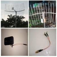 Antena Penguat Sinyal Modem Mifi GRID 15M Huawei E5577 Dual Pigtail