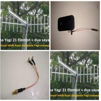Antena Modem Wifi Mifi Huawei E5577 - Antena Penguat Sinyal Yagi 21