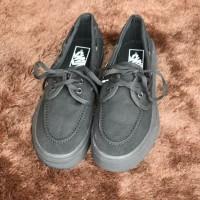 Sepatu Vans Zapato Classics All Black Kualitas Premium Waffle DT
