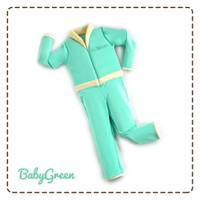 BAJU RENANG PELAMPUNG   GOSWIM FLOSWIM DIVING  Cuddleme - Baby Green-M