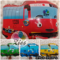 Balon foil tayo / balon plastik bus Tayo